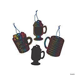 Magic Color Scratch Hot Cocoa Ornaments