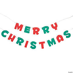Magic Color Scratch Merry Christmas Banner