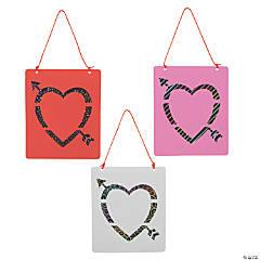 Magic Color Scratch Valentine's Day Suncatchers
