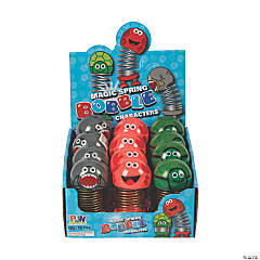 Magic Spring Bobble Character Toys