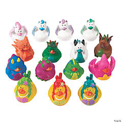 Magical Characters Rubber Duckies Assortment