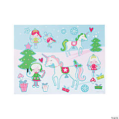 Magical Christmas Sticker Scenes