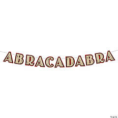 Magical Party Abracadabra Banner