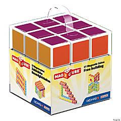 Magicube™ - 27 Piece Multicolored Free Building Set