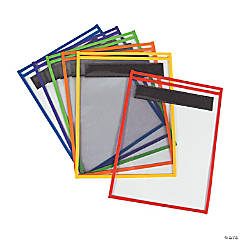 Magnetic Dry Erase Pockets