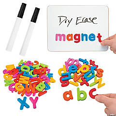 Magnetic Letter Recognition & Writing Kit