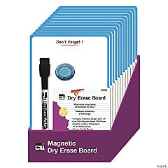 Magnetic Mini Dry Erase Boards, 6-1/4