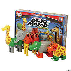 Magnetic Mix or Match® Animals