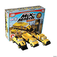 Magnetic Mix or Match® Construction Vehicles