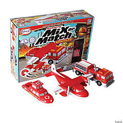 Magnetic Mix or Match® Vehicles - Fire & Rescue