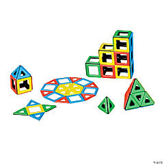 Magnetic Polydron Class Set - 96 Pieces