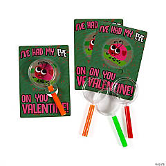 Magnifying Glasses with Ladybug Valentine's Day Card
