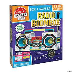 Maker Lab Radio Boombox
