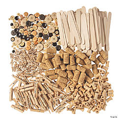 Makerspace Wood Supplies Kit Assortment
