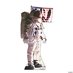 Man on the Moon Astronaut Stand-Up