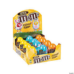 M&M's® Filled Plastic Easter Eggs - 12 Pc.