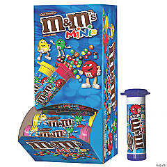M&M'S MINIS Milk Chocolate Candy, 1.08-Ounce Tubes (Pack of 24), 2 pack