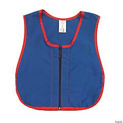 """Manual Dexterity Zipper Vest, 13.5""""W, 17.5""""L"""