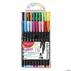 Maped Graph'Peps, Felt Tipped Pens, 20 Pk