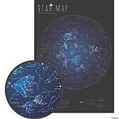 Maps International Glow in the Dark Star Map