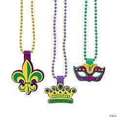 Mardi Gras Beaded Necklace Craft Kit