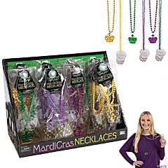 Mardi Gras Beaded Necklaces & Shot Glass Necklaces