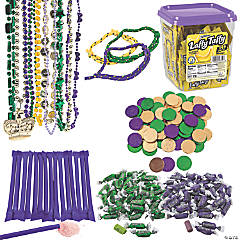 Mardi Gras Candy & Jewelry Handout Kit