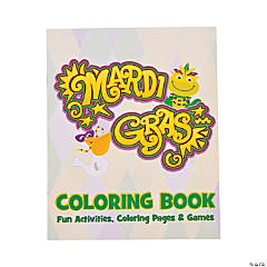 Mardi Gras Coloring Book