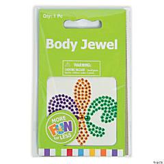 Mardi Gras Deluxe Body Jewels