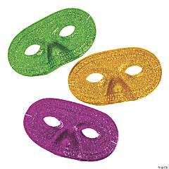 Mardi Gras Glitter Masks