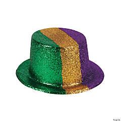 Mardi Gras Glitter Top Hats