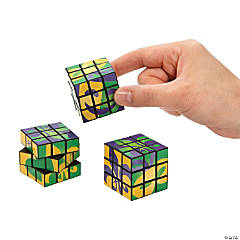 Mardi Gras Magic Cubes