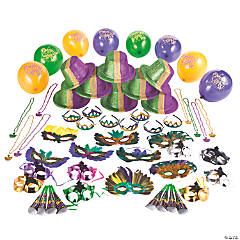 Mardi Gras Party Kit for 24