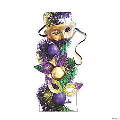 Mardi Gras Party Masks Cardboard Stand-Up