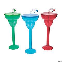 Margarita Plastic Yard Glasses