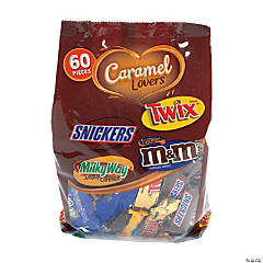 Mars Chocolate Caramel Lovers Fun Size Variety Mix