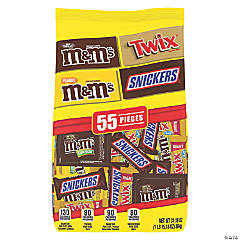 MARS Chocolate Favorites Fun Size Candy Bars Variety Mix 31.18-Ounce 55-Piece Bag, 2 pack