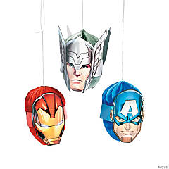 Marvel Avengers™ Honeycomb Decorations