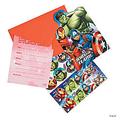 Marvel Avengers™ Party Invitations - 8 Pc.
