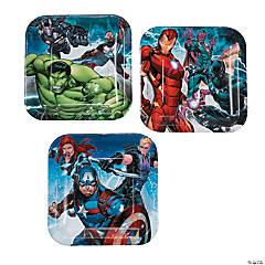 Marvel Avengers™ Square Paper Dessert Plates