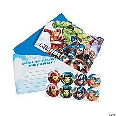 Save On Captain America Thank You Cards Oriental Trading