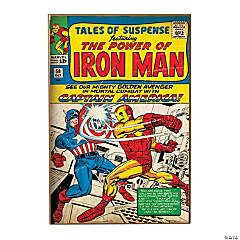 Marvel™ Classic Superhero Comic Cover Wall Decoration