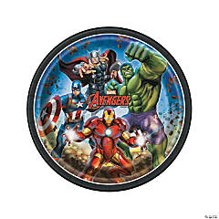 Marvel Comics The Avengers™ Dinner Plates - 8 Ct.