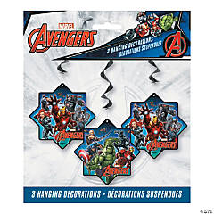 Marvel Comics The Avengers™ Hanging Swirl Decorations - 3 Pc.