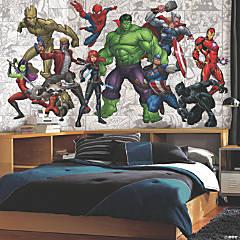 Marvel Hero  Prepasted Wallpaper Mural