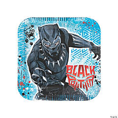Marvel's Black Panther™ Square Paper Dinner Plates - 8 Ct.