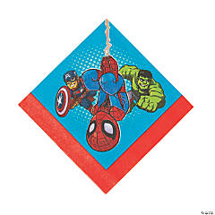 Marvel Superheroes Luncheon Napkins