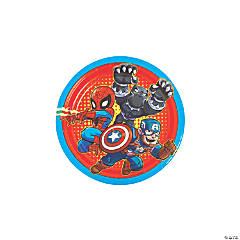 Marvel Superheroes Round Paper Dessert Plates - 8 Ct.