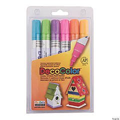 Marvy® Bright Colors DecoColor™ Broad Tip Paint Markers