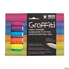 Marvy® Fluorescent Graffiti Fabric Markers